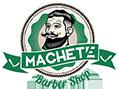 Machete Barbershop Logo