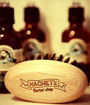 Machete beard brush